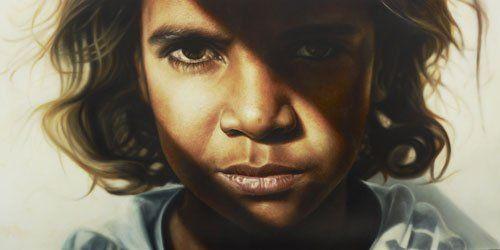 Archibald Prize People's Choice Winner 2009, Vincent Fantauzzo, 'Brandon;' Oil on linen