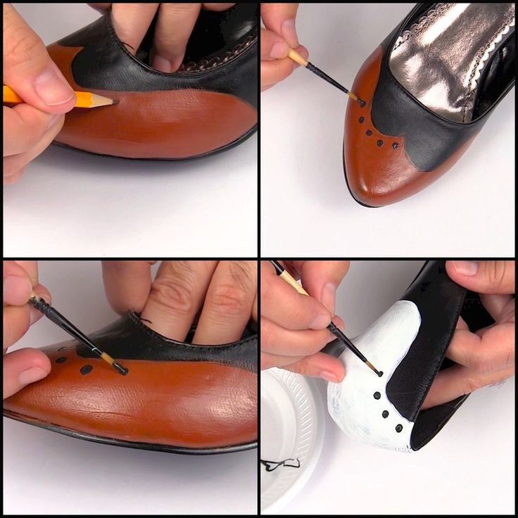How to make a pair of embellished shoes. Downton Abbey Shoe Makeover - Step 2