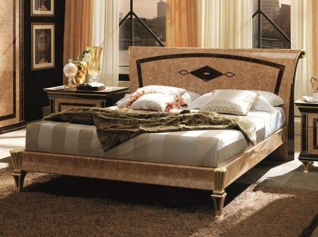 Camera da letto Rossini liberty - Stile liberty per questa camera da letto con dettagli gold