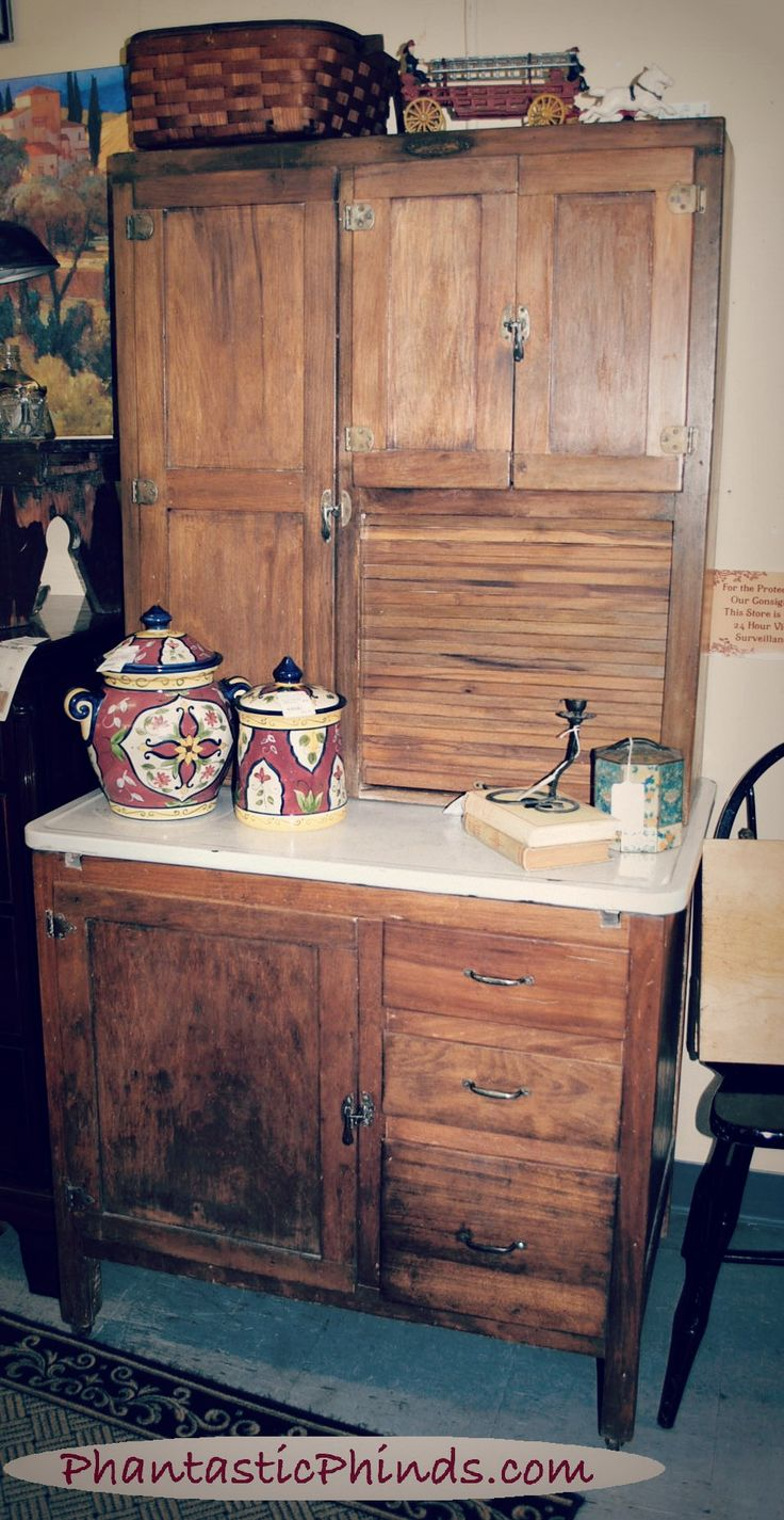 482 Best Hoosier Cabinets Kitchen Queens Images On