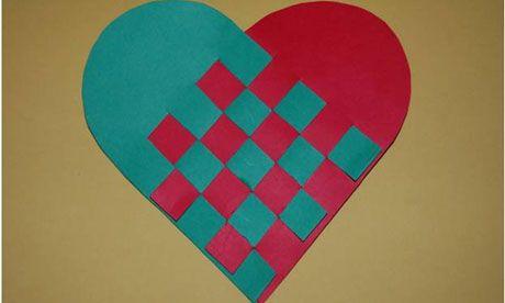 Swedish paper hearts