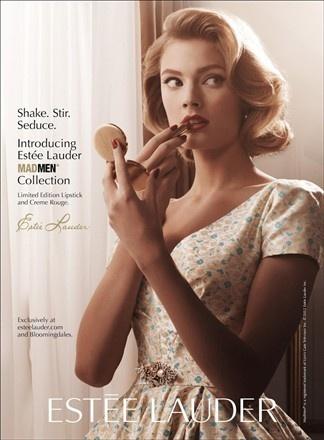 'Mad Men' inspired make-up from Estèe Lauder.
