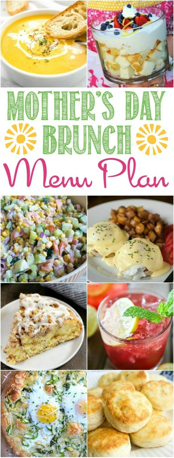 The Ultimate Mother's Day Brunch Menu Plan | cookingwithcurls.com