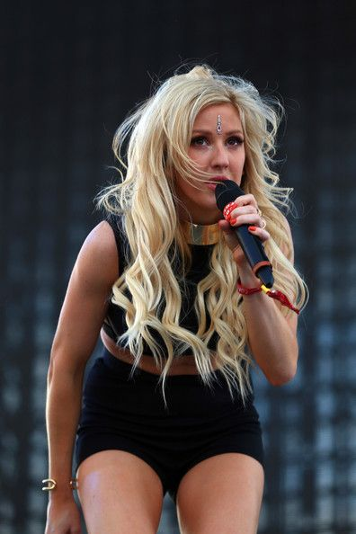 Ellie Goulding Photos: 2014 Coachella Valley Music and Arts Festival - Weekend 2 - Day 1