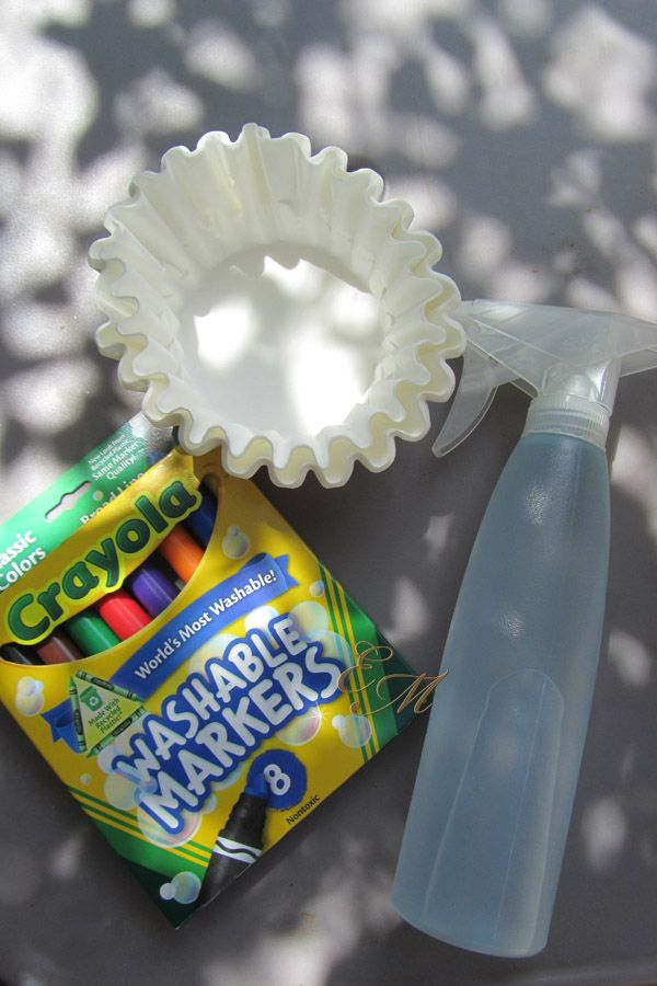 tie dye crafts | Tie-Dye Paper Activity
