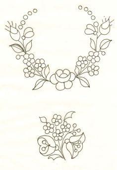 Resultado de imagen de dibujos para bordar a mano