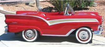 *PEDAL CAR ~ 1957 Ford