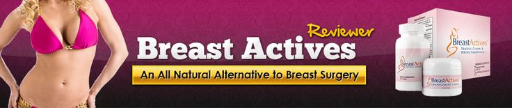 Official Breastactives reviewer banner