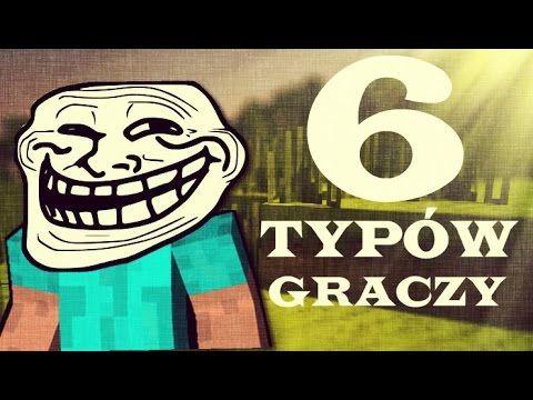 MINECRAFT TROLLING - 6 TYPÓW GRACZY | 2015
