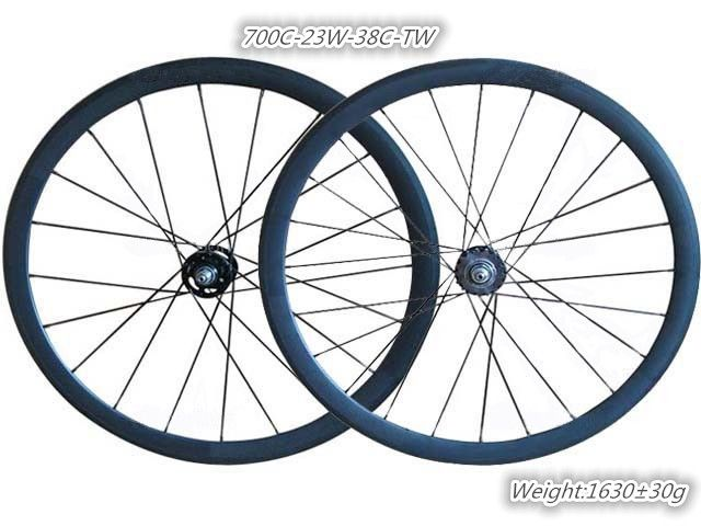 (355.00$)  Know more - http://aig11.worlditems.win/all/product.php?id=32310084980 - carbon clincher hot wheels track light-bicycle 38mm fixed gear single speed wheelset supply with titanium Skewer+brake pad+valve