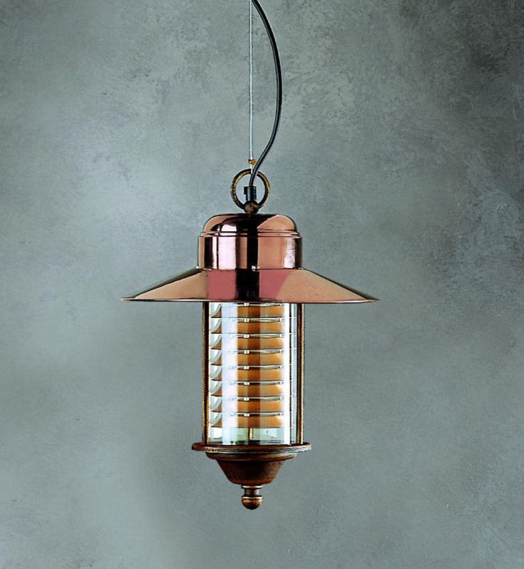 Copper Hanging Lantern   It Looks Amazing   And It Offers A Mixture Of  Traditional And. Hanging LanternsHanging LightsOutdoor ...