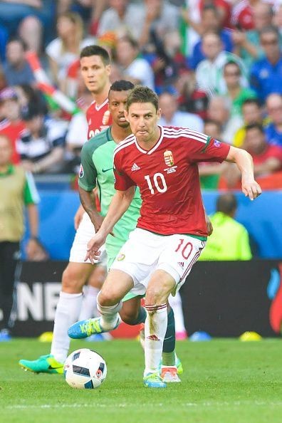 #EURO2016 Zoltan GERA of Hungary during the UEFA EURO 2016 Group F match between Hungary and Portugal at Stade des Lumieres on June 22 2016 in Lyon France