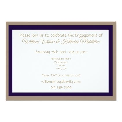 The 25 best engagement invitation cards ideas on pinterest abstract purple engagement invitation double side stopboris Gallery