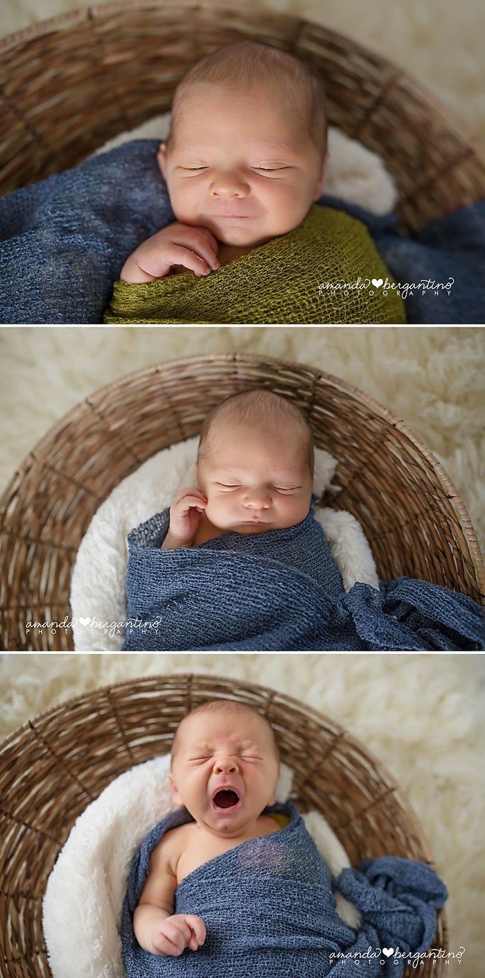 Newborn Boy Photography Natural Organic