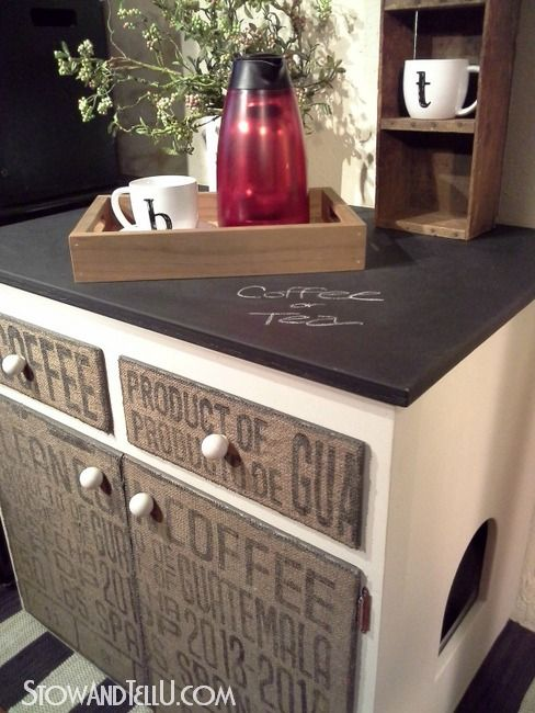 chalkboard-painted-countertop-burlap-furniture-http://www.stowandtellu.com