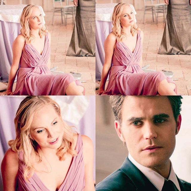 "#TVD 8x09-"" ""The Simple Intimacy of the Near Touch""- #candiceaccola#paulwesley"