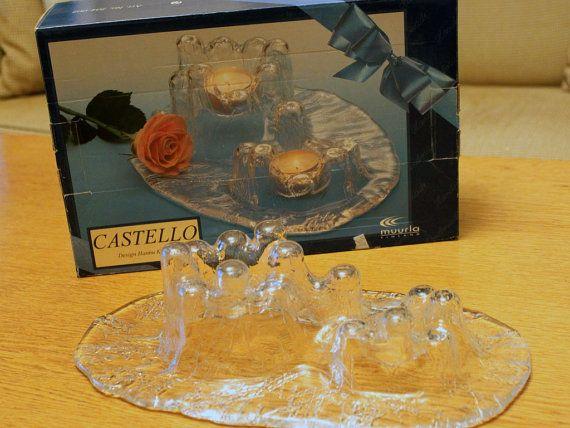 Signed Muurla Castello Vintage Tealight by FinntageFromFinland
