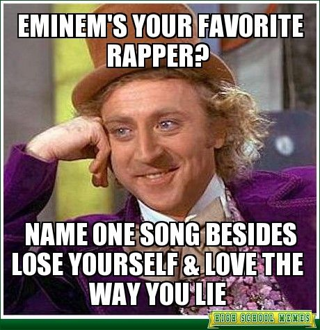 eminem s mockingbird critique World heritage encyclopedia,  the real slim shady was eminem's first song to reach number one in the united  the song is a critique of manufactured pop songs.