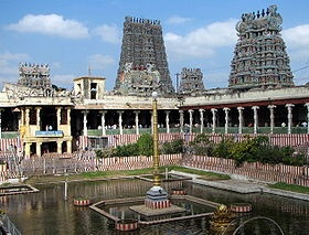 Meenakshi Sundareswarar Temple is a historic Hindu temple located in the 2500 year old holy city of Madurai, India.