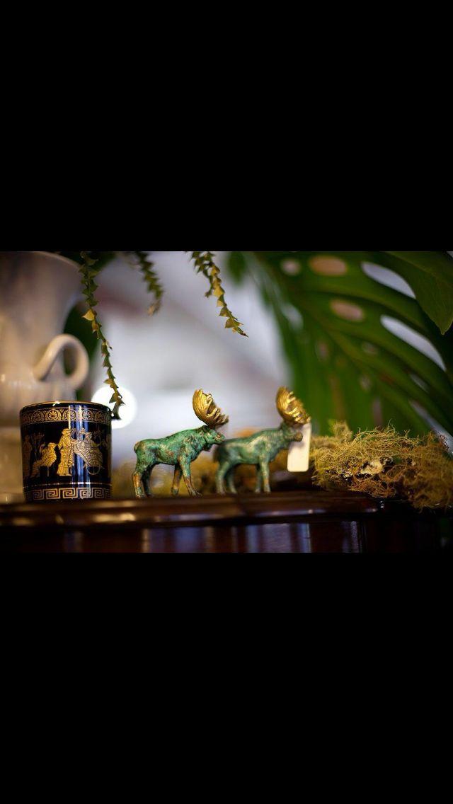 #Moose figurines