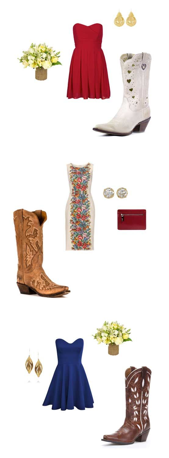 Fall Wedding Boots | Country Outfitter  http://www.countryoutfitter.com/blog/fall-wedding-boots/
