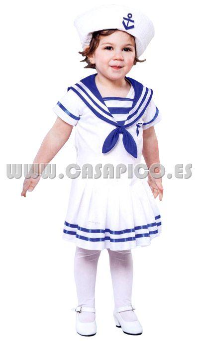 #disfraz de marinerita para la peque de la casa, perfecto para #carnavales #casapico #disfracescasapico