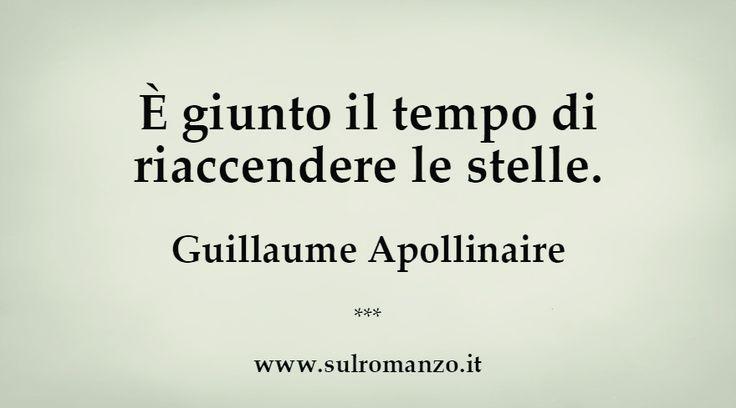 Guillaume Apollinaire #aforismi
