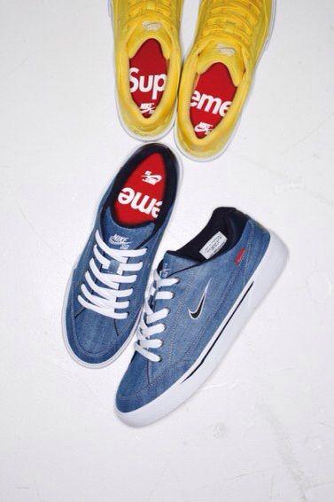 Supreme w/ Nike SB