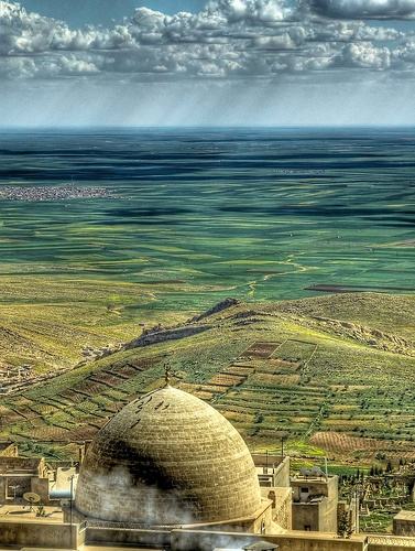 Mardin is close to Syria border,in the southeast of Turkey.. / Мардин, Турция - граница с Сирией