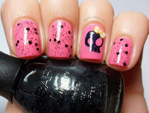 499 best Skull Nails! images on Pinterest | Nail scissors, Halloween ...