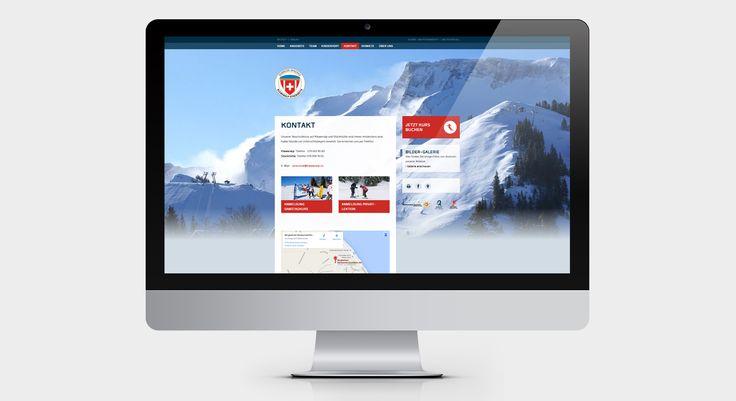 SCHWEIZER SKI- UND SNOWBOARDSCHULE KLEWENALP - Responsive Website