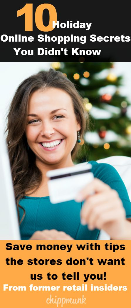 10 Holiday shopping secrets that you might not know!  Get the low down on shopping for the holidays this year.  Find out these secrets so you can save more and shop smart.
