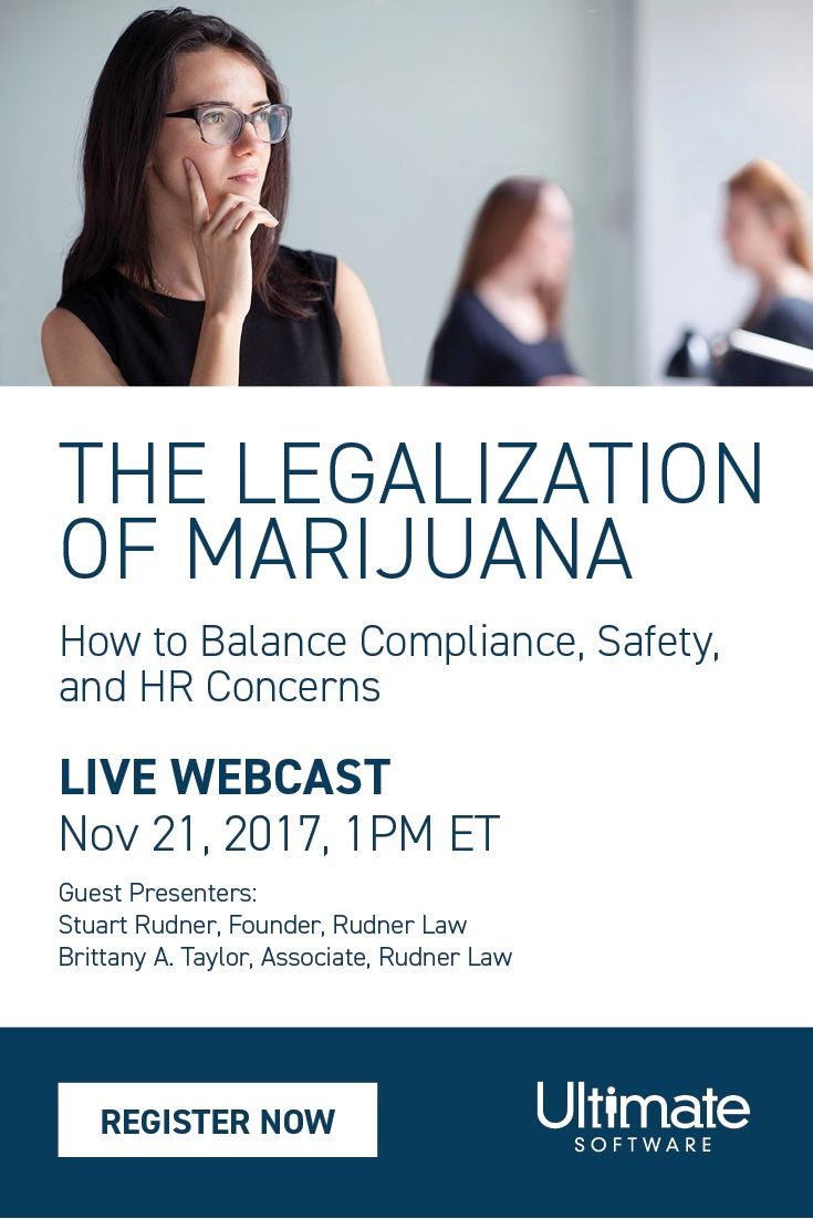 Canadian Employers: Join us Tuesday, November 21st to ensure your organization has the information & tools to plan for the enactment of the Cannabis Act. Learn how to respond to employee issues in a manner compliant with this recent Canadian legislation. RSVP now: http://ulti.pro/2AyW5ke