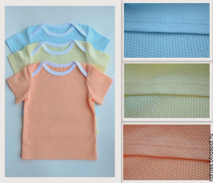 Энди. Студия детского трикотажа t-shirt, peach, blue, yellow, ecru, knitwear, sewing, children @ndpronina