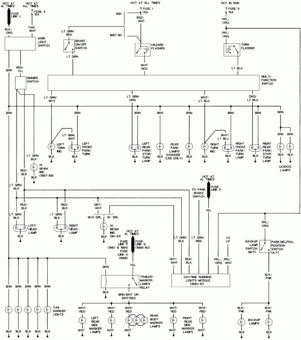 1990 Ford Truck Wiring Diagram And Ford E Wiring Diagram Wiring Diagrams Folder Ford Diagram Light Trailer