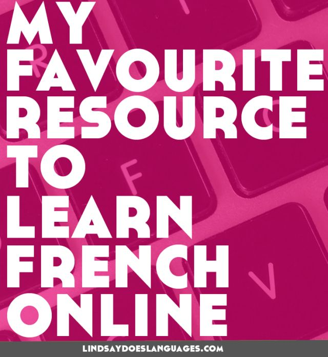 I've found my favourite resource to learn French online. Click through to find out more.