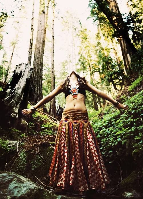 Hippie Nature Girl Hippie Boho Gypsy Pinterest