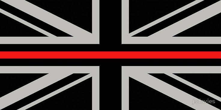 British Flag: Thin Red Line