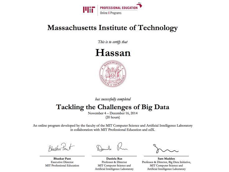 MITx Big Data