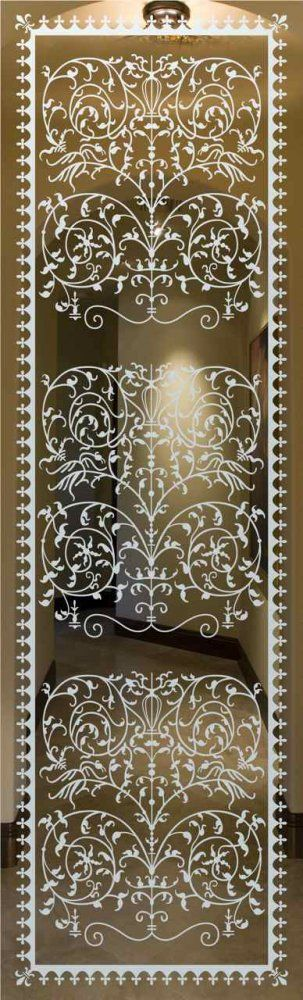 Victorian Lace Glass Door Inserts Design your Door Glass Insert just the way YOU want it! Customize your etched glass Insert to perfectly suit your decor!