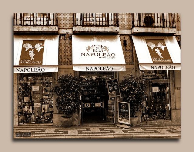 Napoleao: best porto wines in Lisboa