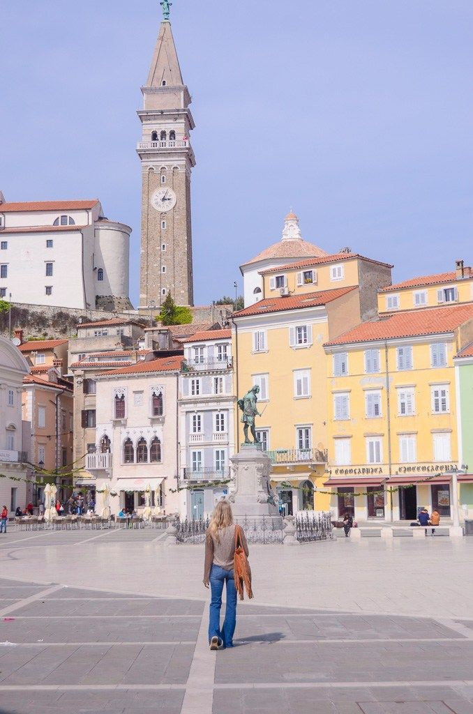 Most people only make it to Ljubljana when they go to Slovenia, but did you know there's a beautiful pastel colored city right up the coast? Check out my little guide to Piran, Slovenia and get all my favorite travel tips!
