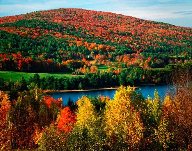 New_Hampshire_Fall_Colors_Print | Fall Colours | Pinterest