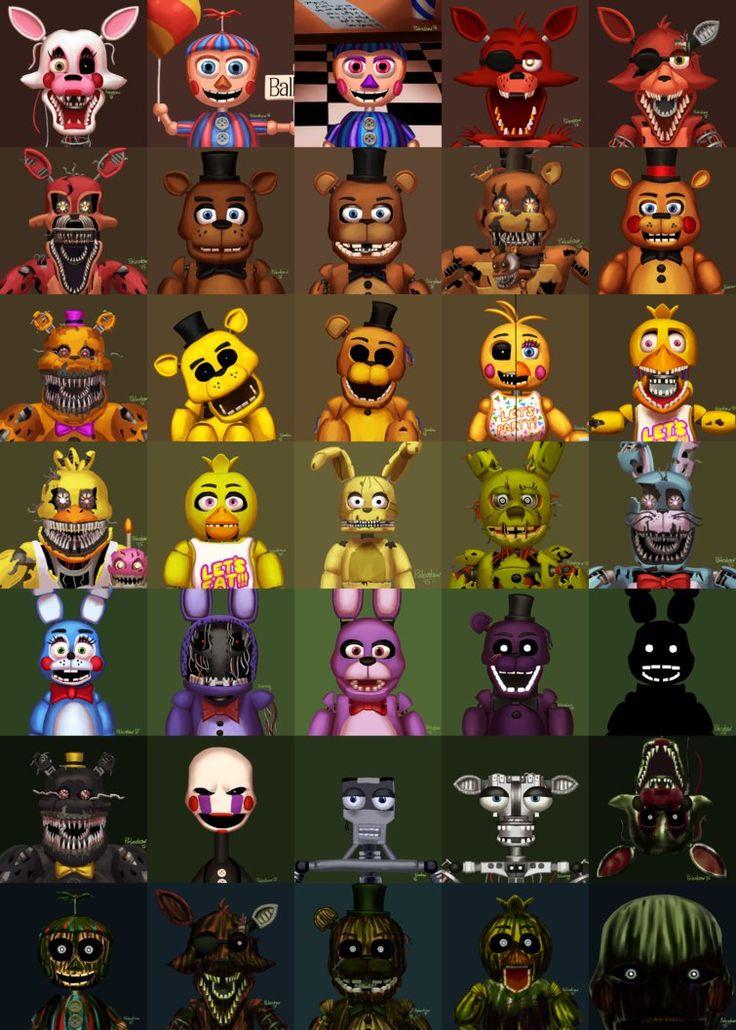 Fazbear's Family Fright (Updated) by Paleodraw on DeviantArt