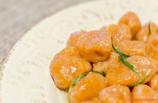 Gnocchi di zucca ricetta semplice e veloce