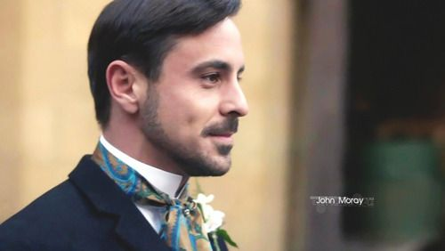 Emun Elliott in The Paradise in his wedding attire- beautiful period clothes on this show!
