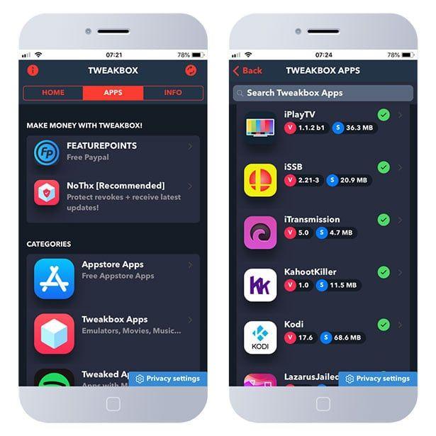 TweakBox Download  Install tweaked apps for free on iOS | Jailbreak