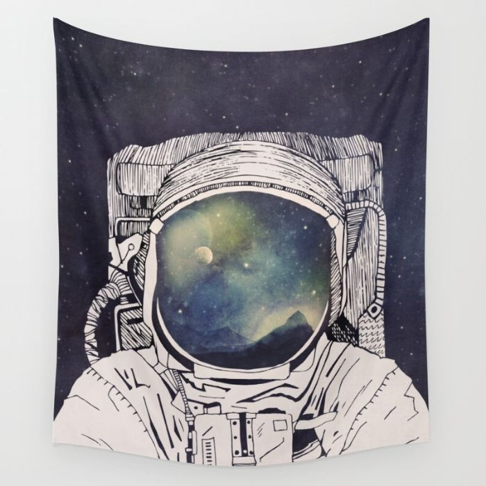 Dreaming Of Space Wall Tapestry by Tracie Andrews | Society6
