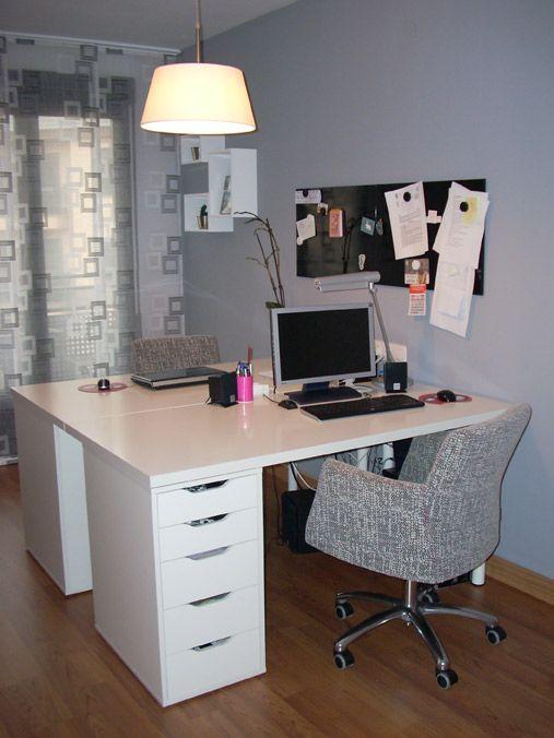 Escritorio ikea escritorio pinterest ikea - Ikea mesas de escritorio ...