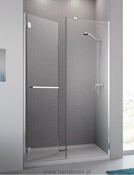 Carena DWJ Radaway drzwi wnękowe 993-1005x1950 chrom szkło przejrzyste lewe - 34322-01-01NL  http://www.hansloren.pl/Drzwi-szklane-do-wneki